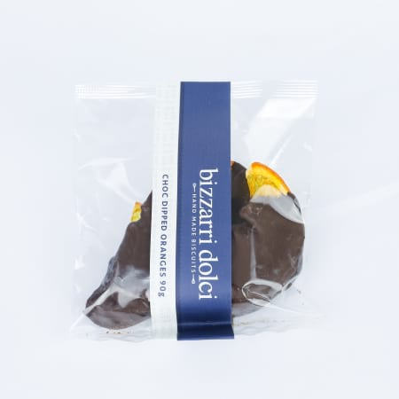 Choc Dipped Oranges by Bizzarri Dolci